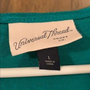 Universal Thread Tops - Universal threads wrap front tank